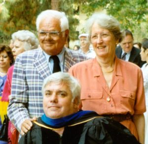 Paul and Louise Fornaciari, and son Bill