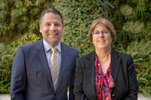 Dave Beringer and Gloria Pitzer, Founding Fellows and 2016 Co-Chairs