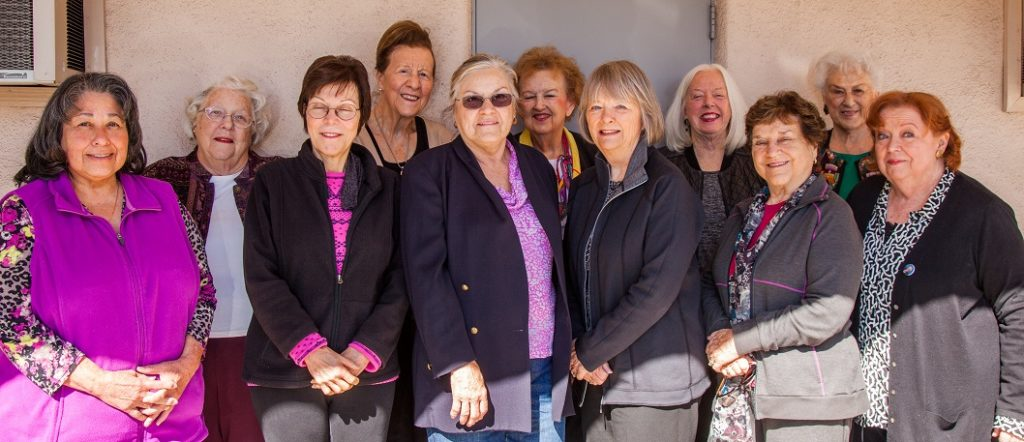 Members of the College Women's Club of Pasadena