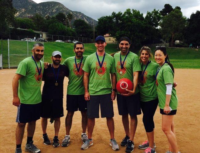 2016 LF Kickball Winning team bright